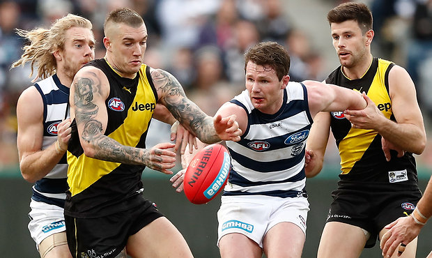 Crunching Numbers: Round 20 Richmond vs Geelong AFL DFS Lineup Tips
