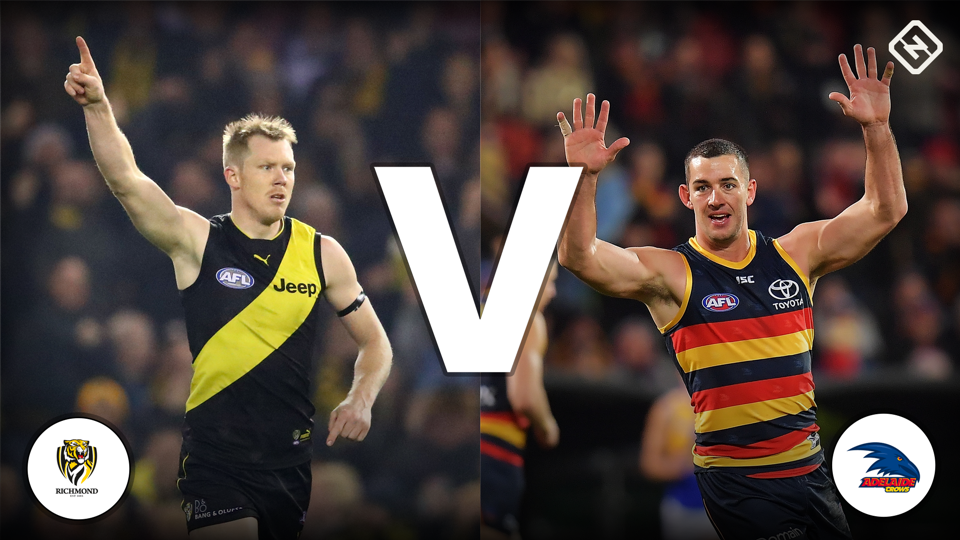 Crunching Numbers: Round 16 Richmond vs Adelaide AFL DFS Lineup Tips