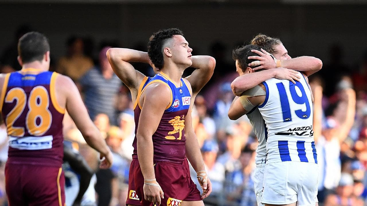 AFL 2019 Fantasy Tips: Round 18 Saturday Qualifier Brisbane vs North Melbourne