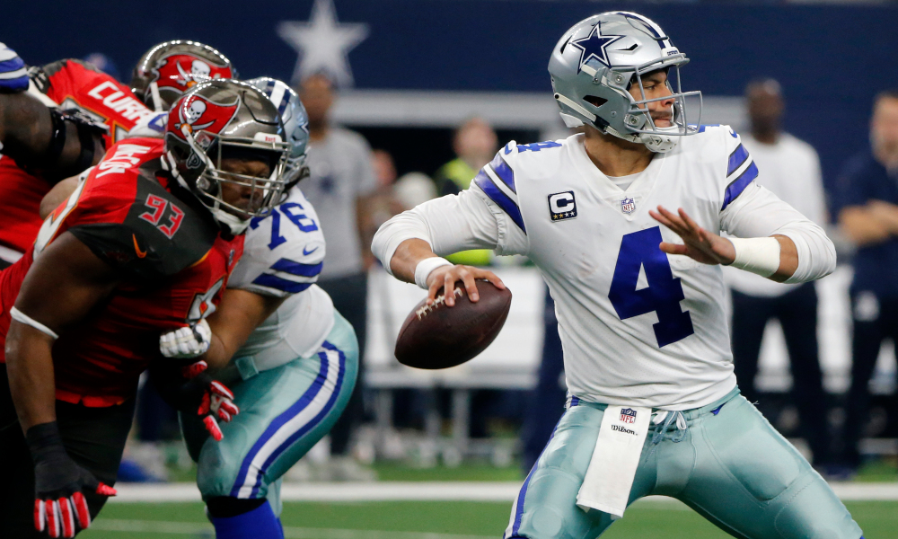 NFL 2021-22 Daily Fantasy Tips: Buccaneers v Cowboys