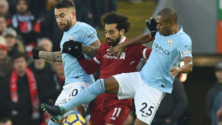 EPL 2018/19 DFS Lineup Tips: Manchester City vs Liverpool