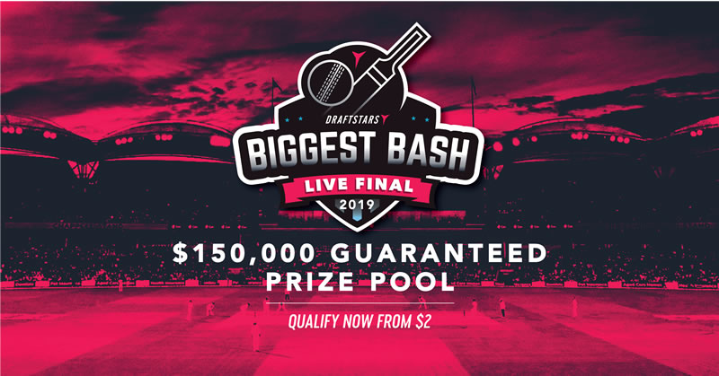 Win $50,000 in BBL08 With Draftstars Biggest Bash!