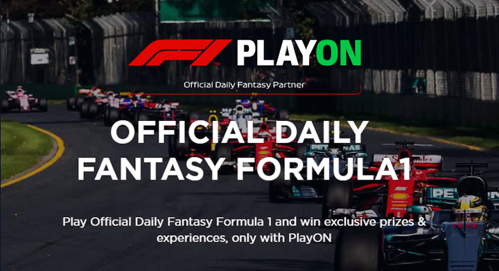 DFS Formula 1 Promotion at PlayON
