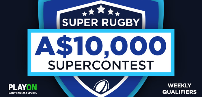 Two-for-one Special at PlayON for Super Rugby $10,000 Super Contest