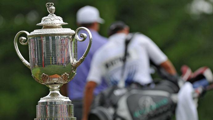 2018 PGA trophy