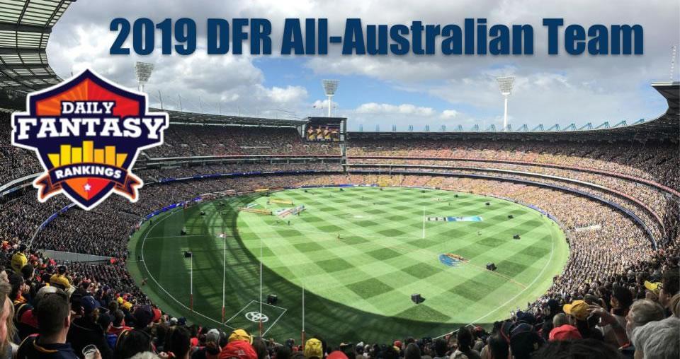 2019 AFL All-Australian DFS Team