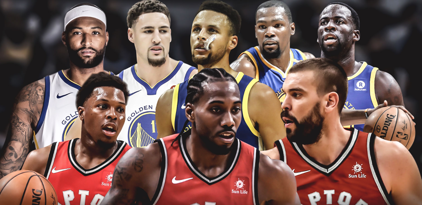 NBA Finals Matchup - Raptors vs Warriors