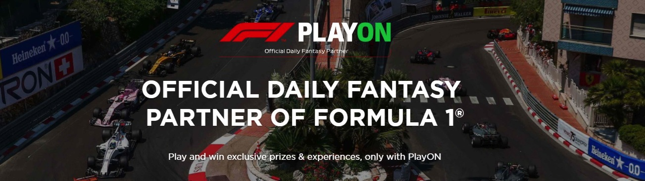 PlayON F1 official partner