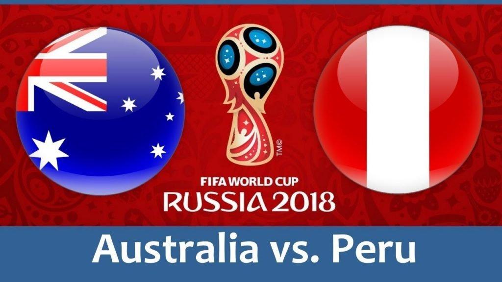 FIFA World Cup Australia vs Peru