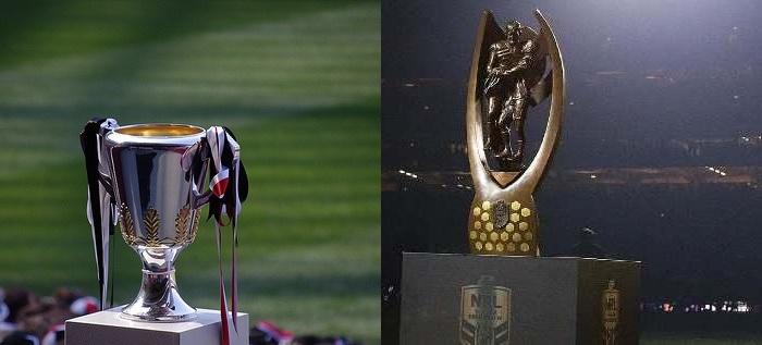 AFL NRL Grand Final Trophies DFS