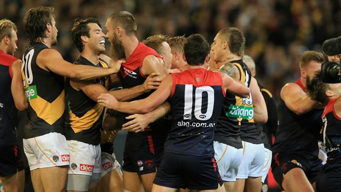 AFL Richmond vs Melbourne