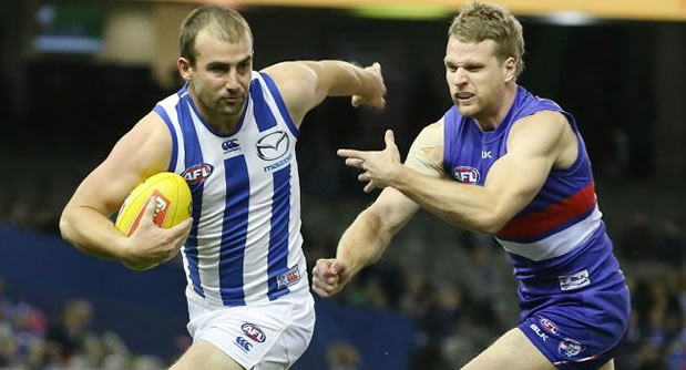 AFL Kangaroos vs Bulldogs
