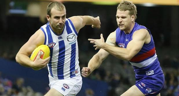 AFL Kangaroos vs Bulldogs