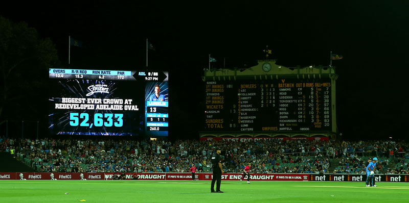 BBL08 Adelaide Oval