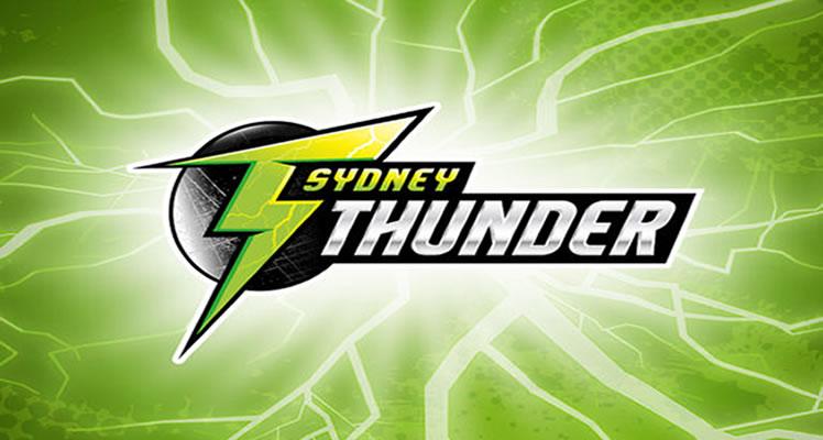 BBL08 Sydney Thunder