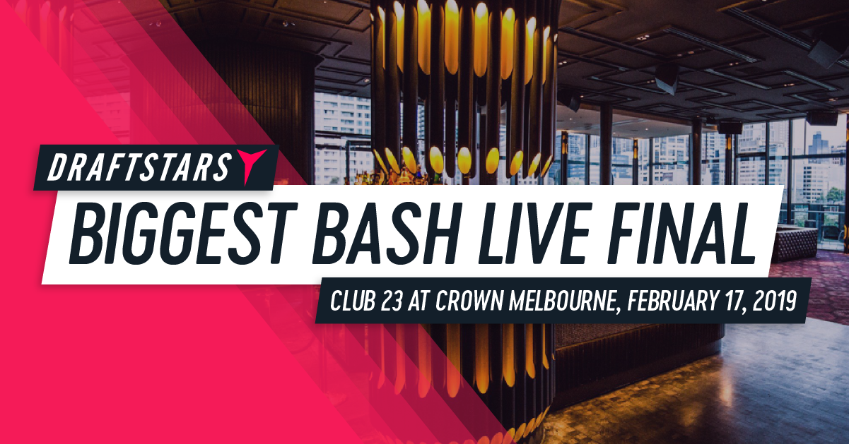 Draftstars Biggest Bash Live Final
