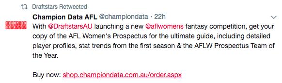 champion data tweet