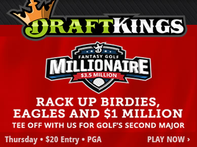 DraftKings Golf Millionaire