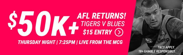 DraftStars AFL contests