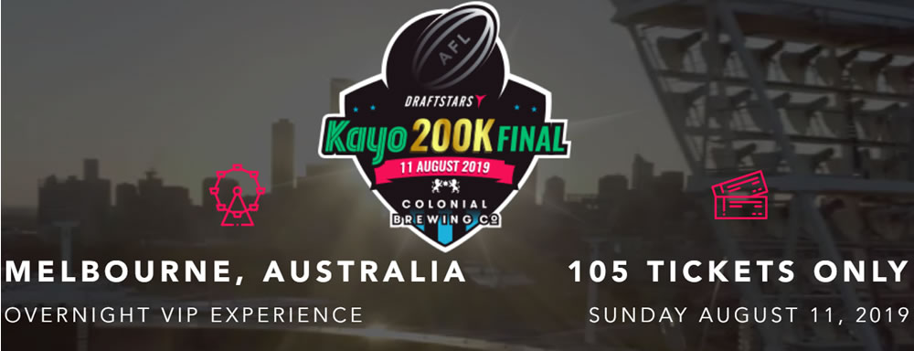 First Qualifiers win their tickets to the Kayo $200,000 AFL Live Final at Draftstars