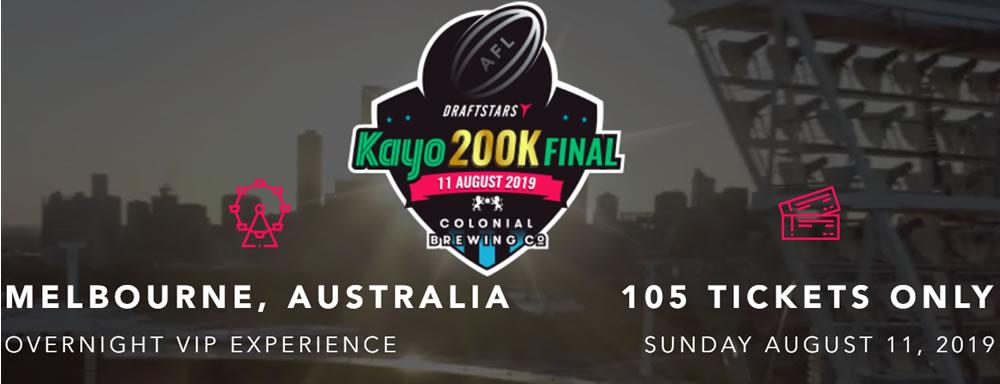 DraftStars Kayo $200,000 AFL Live Final