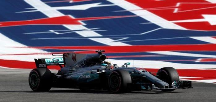 Formula 1 Lewis Hamilton USA
