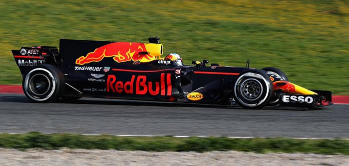Formula 1 Red Bull car
