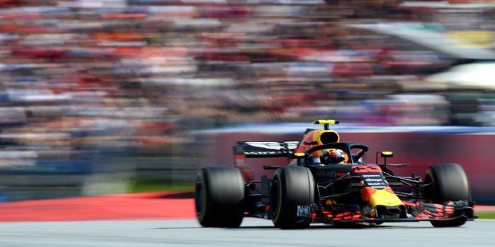 Max Verstappen Formula 1 Austrian Grand Prix Red Bull Ring