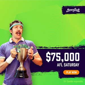 Moneyball AFL $75,000 Guaranteed Contest