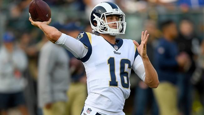 Jared Goff LA Rams