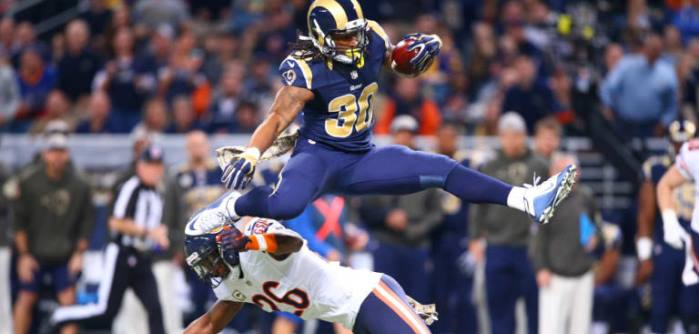 NFL 2018 Todd Gurley DFS