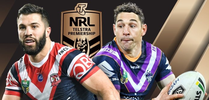 NRL Grand Final 2018 Tedesco Slater Storm Roosters DFS