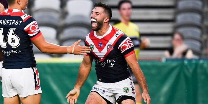 NRL 2018 James Tedesco Roosters