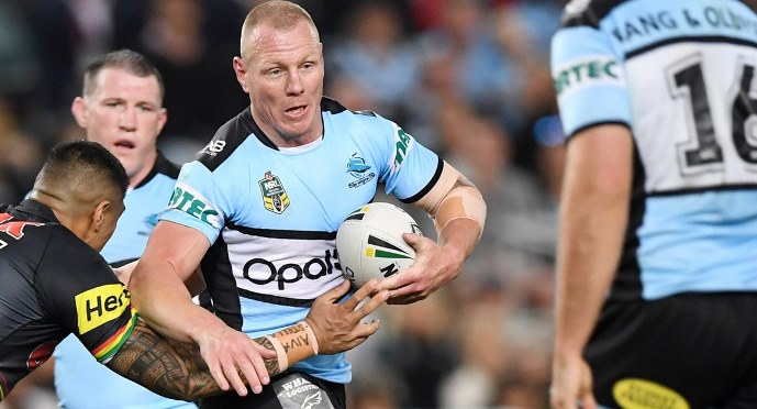NRL Luke Lewis Sharks 2018