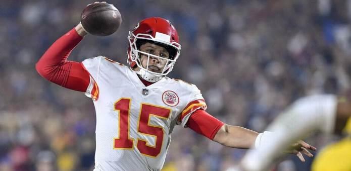 NFL 2018 Patrick Mahomes