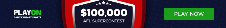 PlayON $100,000 AFL Super Contest