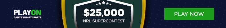 NRL PlayON 25k Supercontest