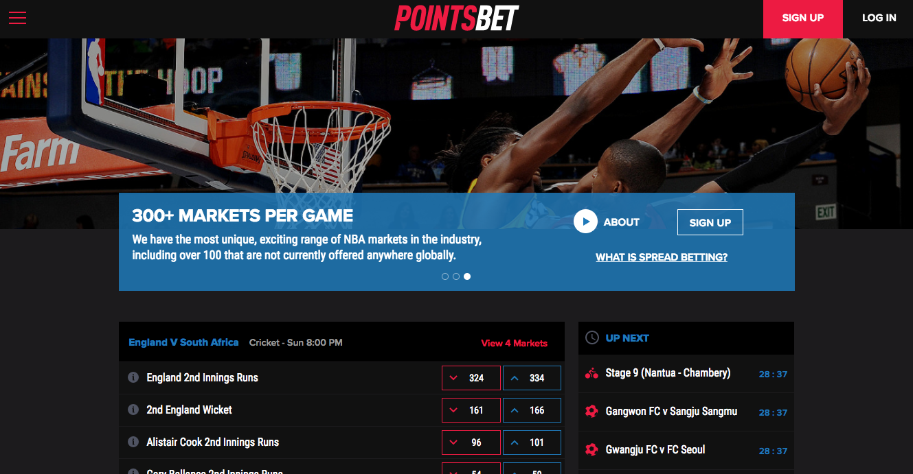 pointsbet screenshot