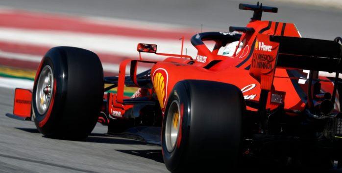 Sebastian Vettel F1 Formula 1 Ferrari Bahrain
