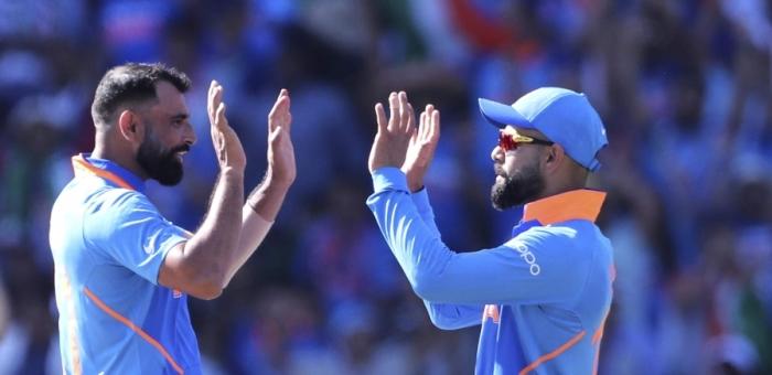Mohammed Shami Virat Kohli India England