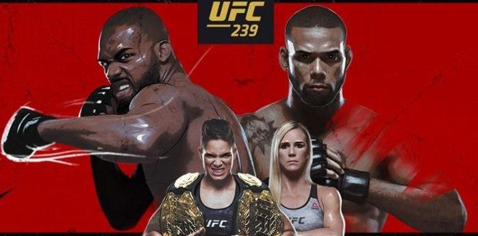 UFC 239 MMA UFC239 DFS