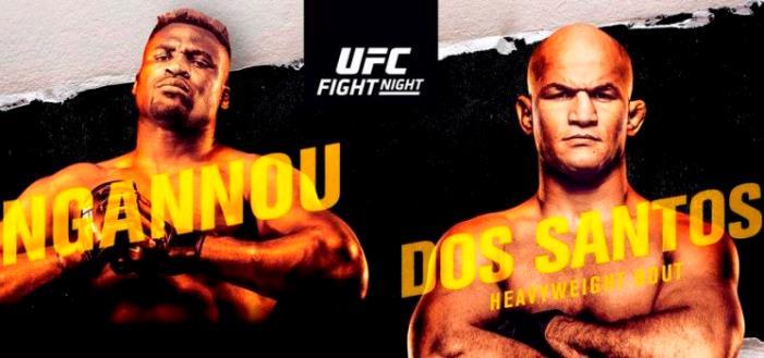 UFC Fight Night on ESPN dos Santos Ngannou